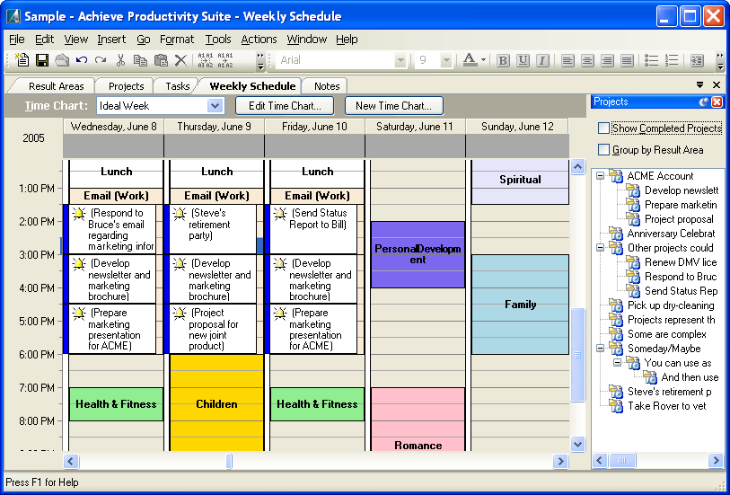Personal productivity software get things done with for Software planner