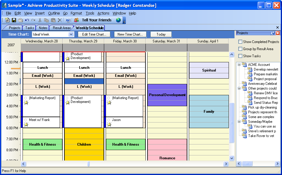 Achieve Planner Planning Software To Do List Software